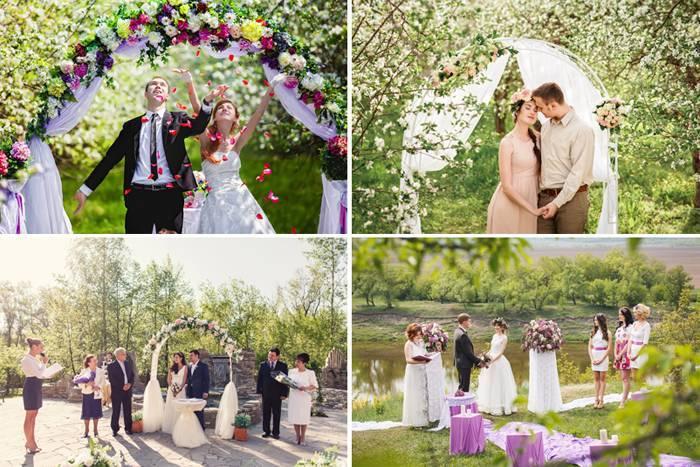 Весенняя свадьба: лучшие идеи и лайфхаки