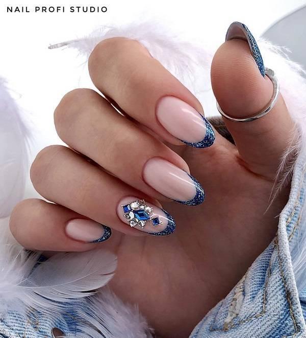 Маникюр френч 2020-2021 модные тенденции фото самый красивый дизайн | ногти и макияж