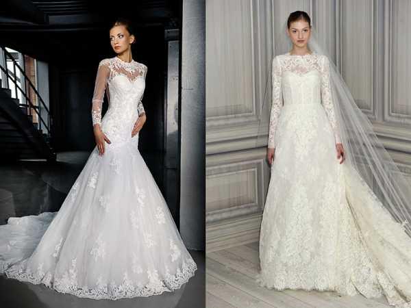 Платье на венчание