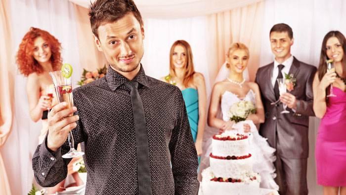 Представления гостей на свадьбе. характеристика гостей на свадьбу для ведущего – примеры
