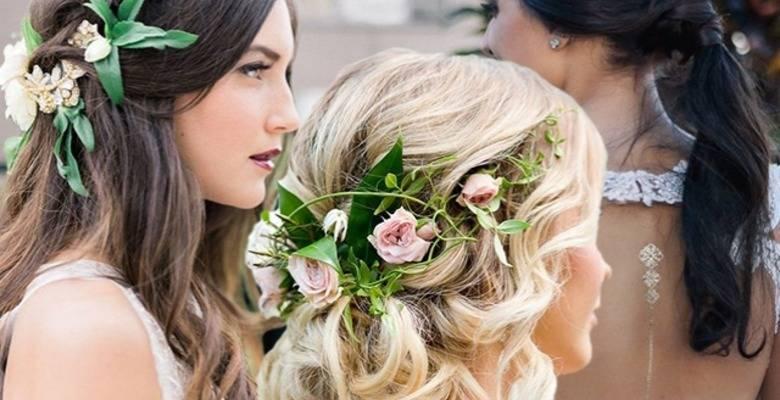 Свадебные прически на средние волосы. 240 фото укладок для невесты.