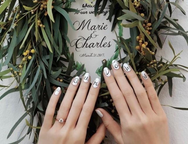 Модный свадебный маникюр: идеи для 2017 года