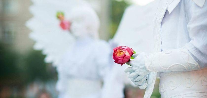 Шоу-программа на свадьбу: живые скульптуры