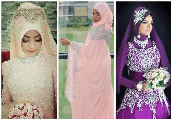 Красивые мусульманские платья   модные  платья