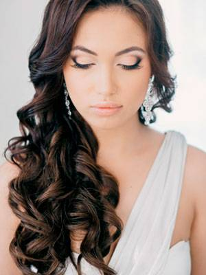 Свадебные прически на длинные волосы: идеи, фото
