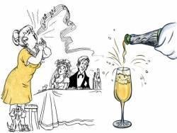 Короткие тосты на свадьбу: в стихах и своими словами