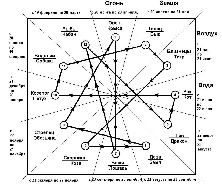 Векторный брак по знакам зодиака: понятие, астрология любви, отношения и совместимость