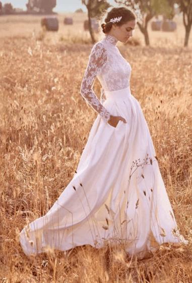 Пышное свадебное платье 2020 года: как сегодня выглядит невеста-принцесса