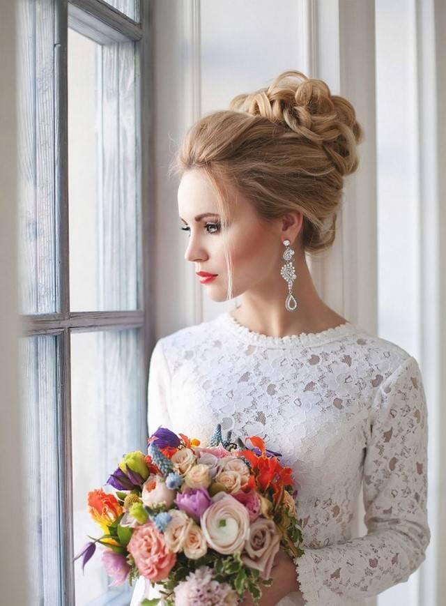 Свадебная прическа на короткие волосы: лучшие варианты