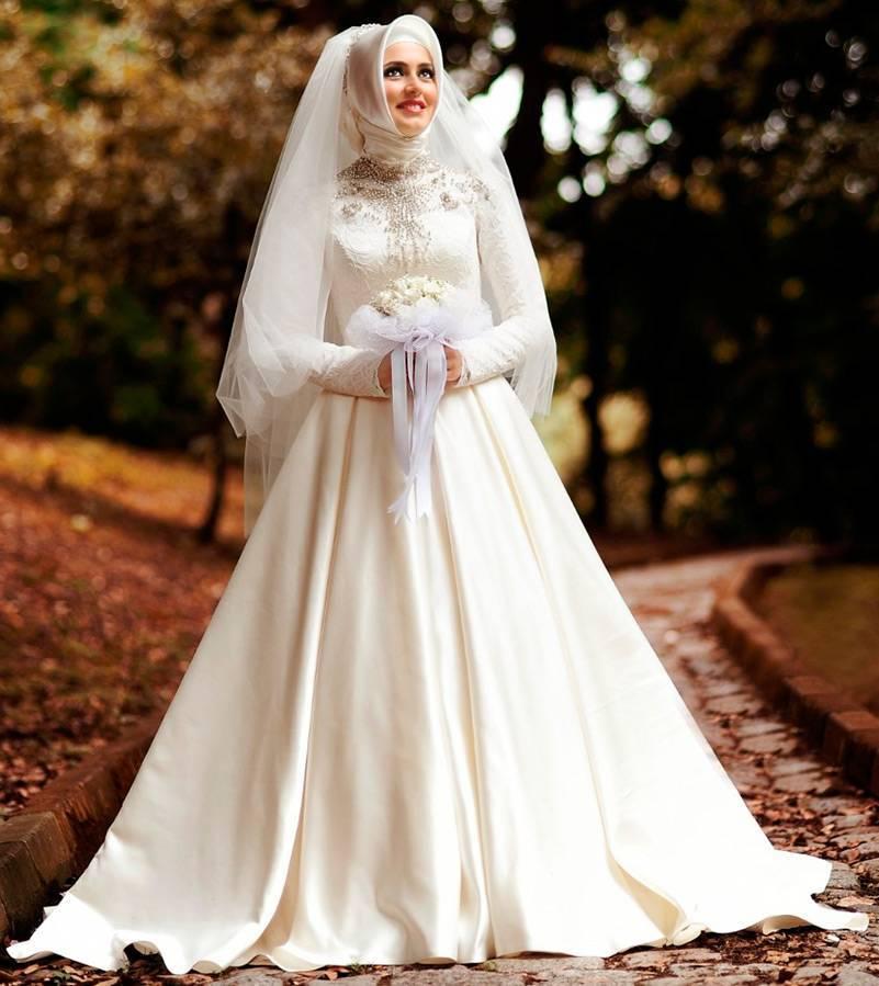 Арабские свадебные платья, аксессуары и макияж: раскрываем тайну образа арабской невесты!
