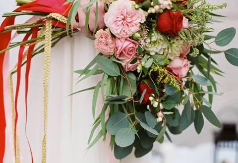 Идеи летних свадебных букетов