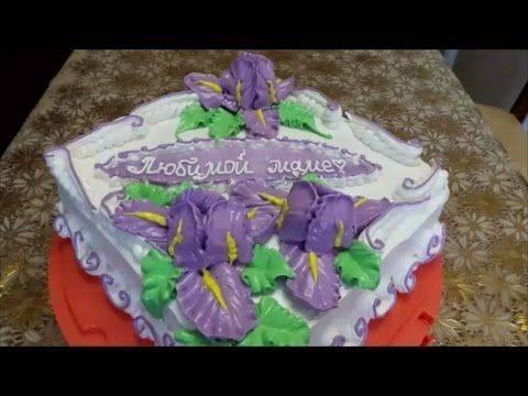 Торт на свадьбу с лебедями