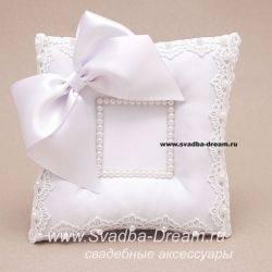 Свадебная подушечка для колец своими руками: пошаговый мастер класс с фото и видео