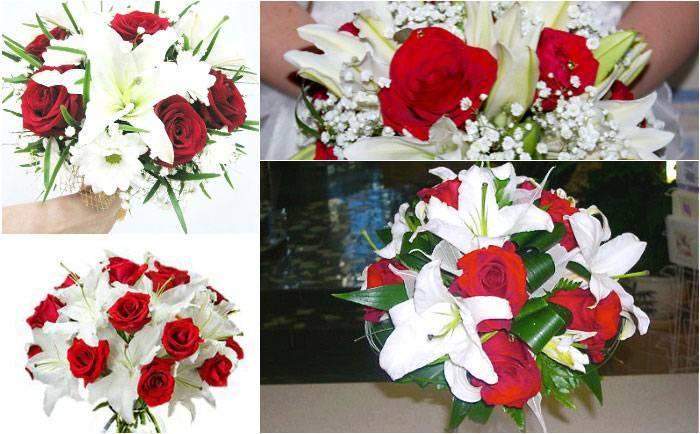 Цветные букеты невесты: как правильно выбрать цвет свадебного букета?