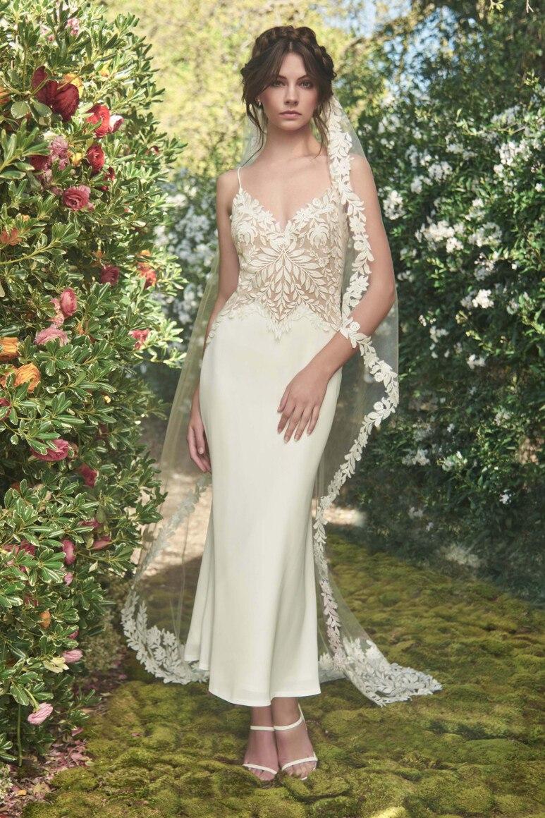 Модели свадебных платьев из тафты