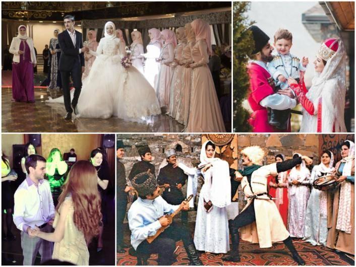 Карачаевские свадебные обычаи и традиции