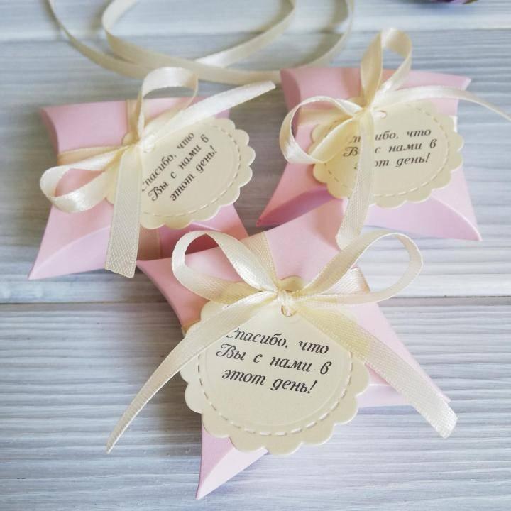 Бонбоньерки на свадьбу: идеи для оригинальных подарков гостям