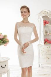 Короткое пышное свадебное платье (с пышной юбкой): стили и выбор (64 фото)