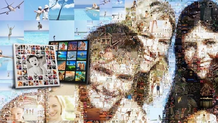 Как сделать много фотов одной фотографии или рамке