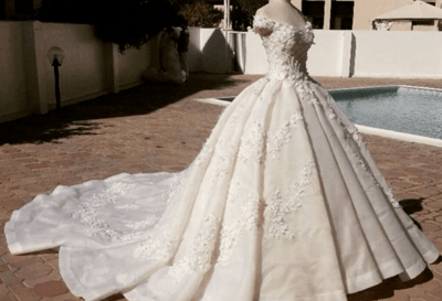 Свадебное платье своими руками