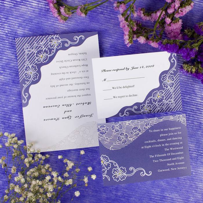 Текст для свадебных приглашений — какой выбрать?