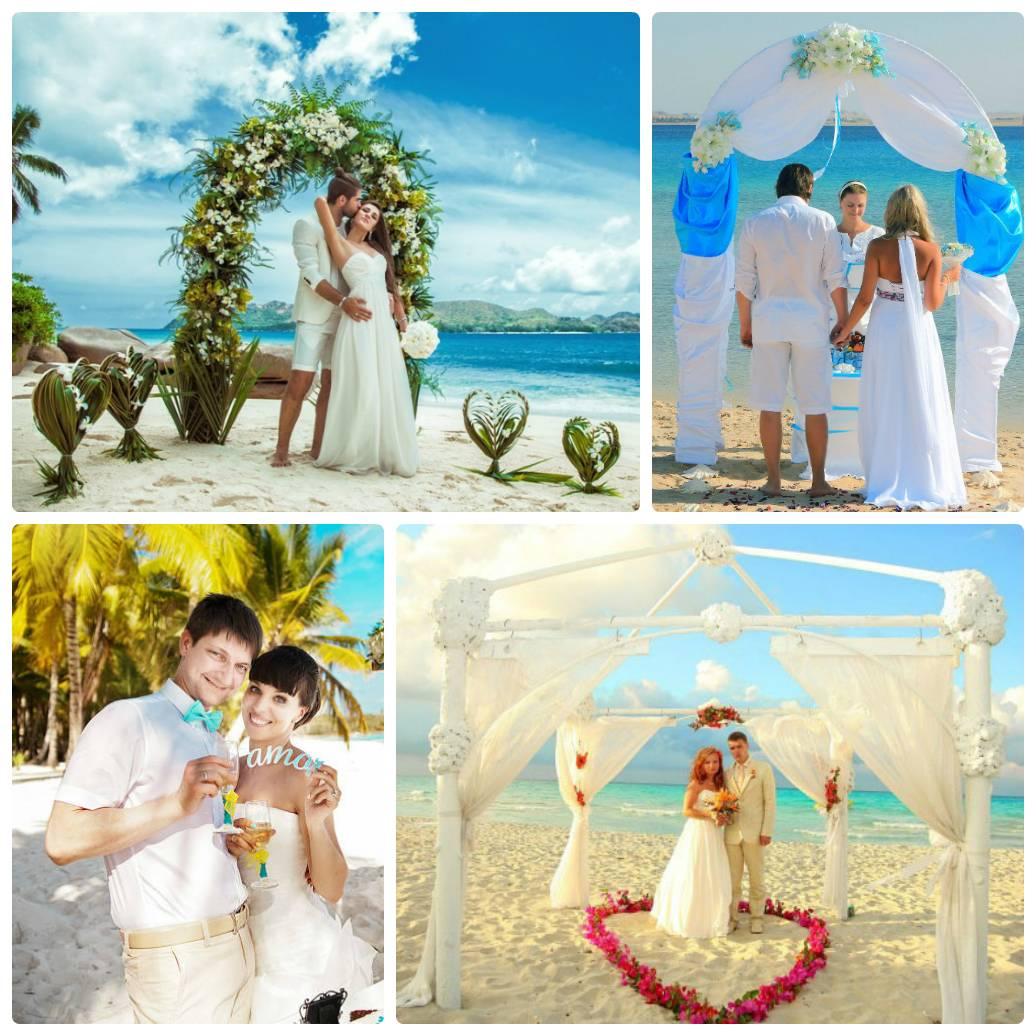 Свадьба на море: плюсы и минусы, идеи и фото