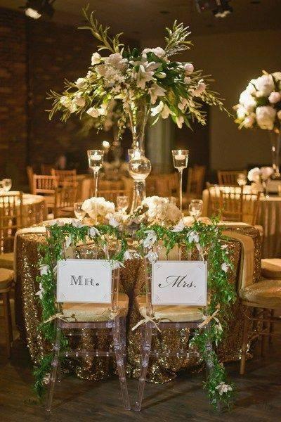 Оформление свадебного стола своими руками: интересные идеи (78 фото)