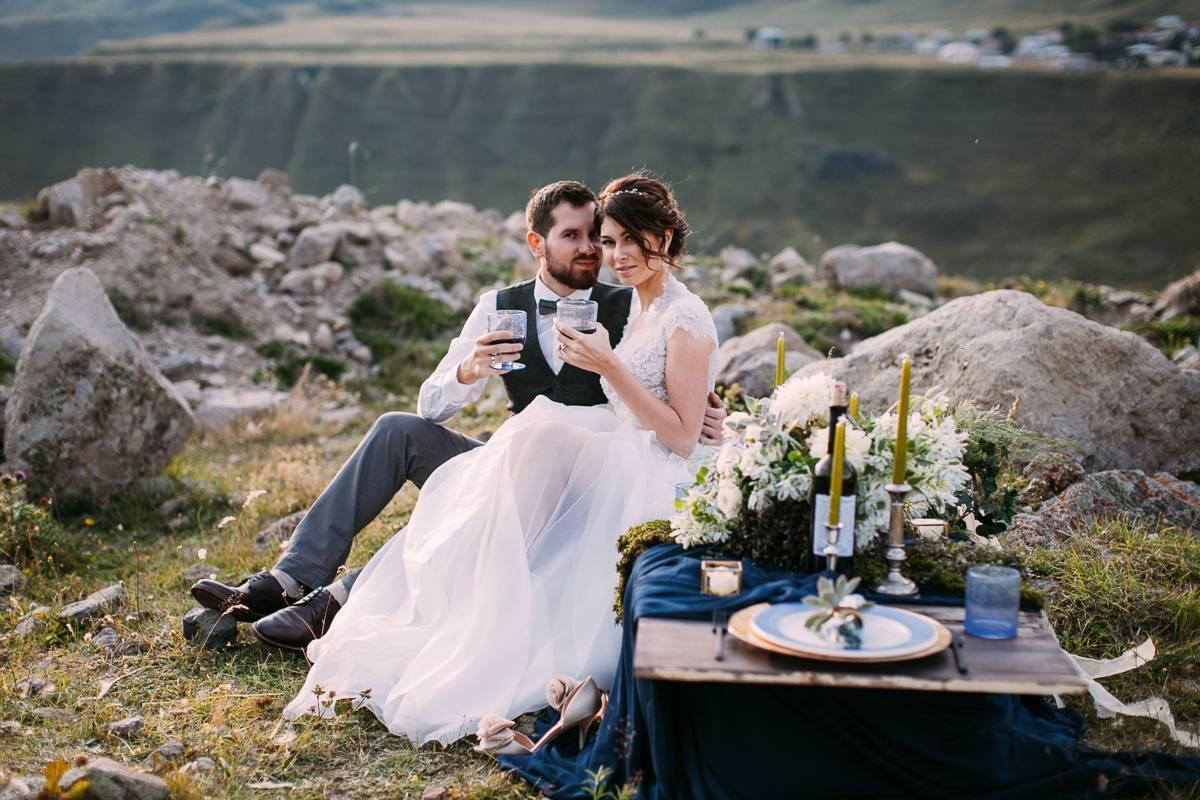 Свадебный фуршет: его преимущества и основные правила организации и проведения