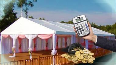 Сколько стоит свадьба. подсчитаем основные расходы