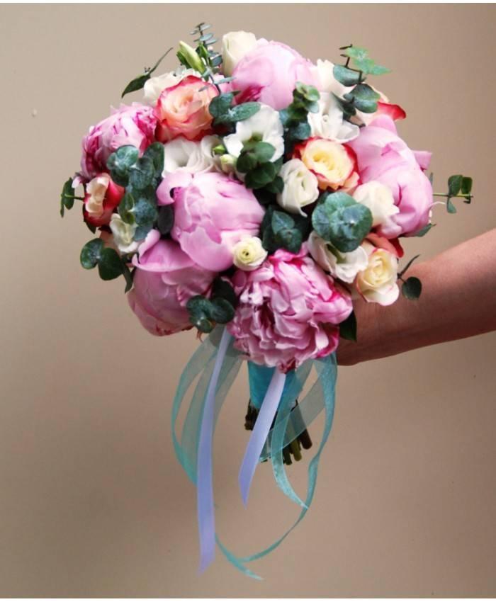 Эустома – лучшие идеи для свадебного букета