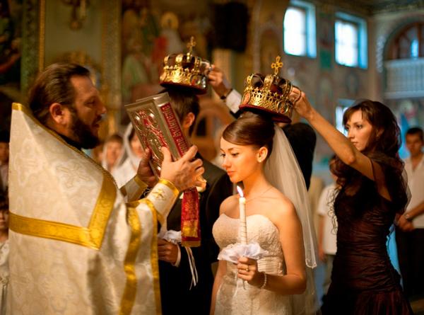 Правила венчания в церкви