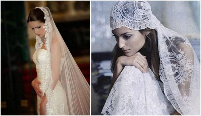 Фата невесты фото