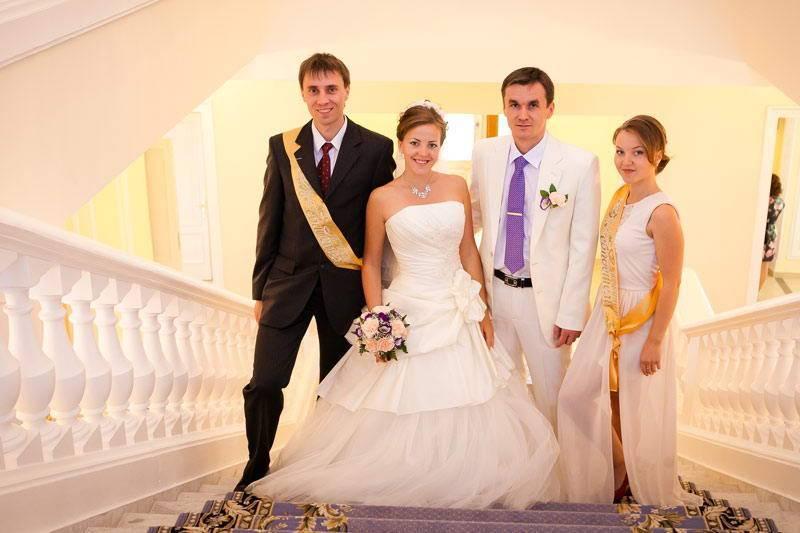 Свидетели на свадьбе: обязанности и приметы