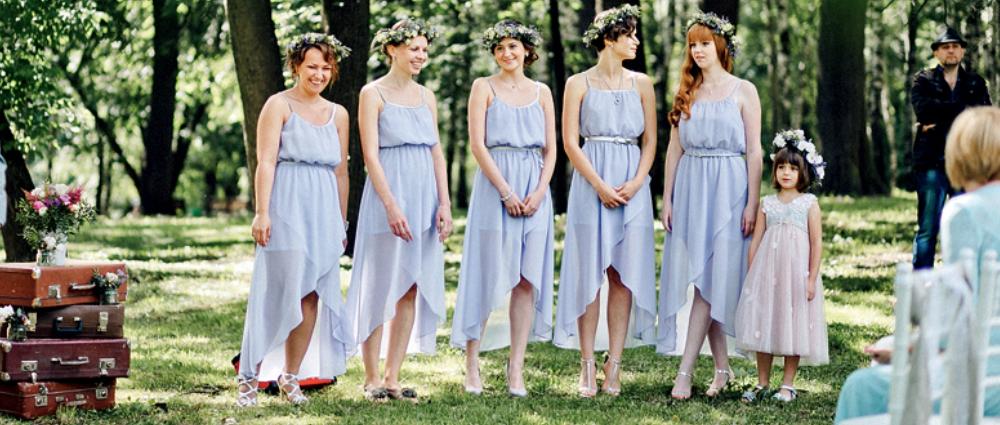 Как правильно выбрать платье к подруге на свадьбу