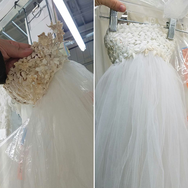 Миссия – разгладить свадебное платье: утюг, отпариватель и бабушкины методы