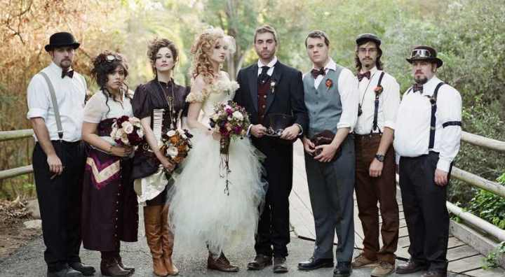 Сиреневая свадьба: 20 фото и идей оформления