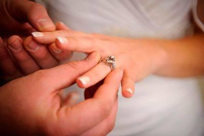 Где носят помолвочное кольцо?