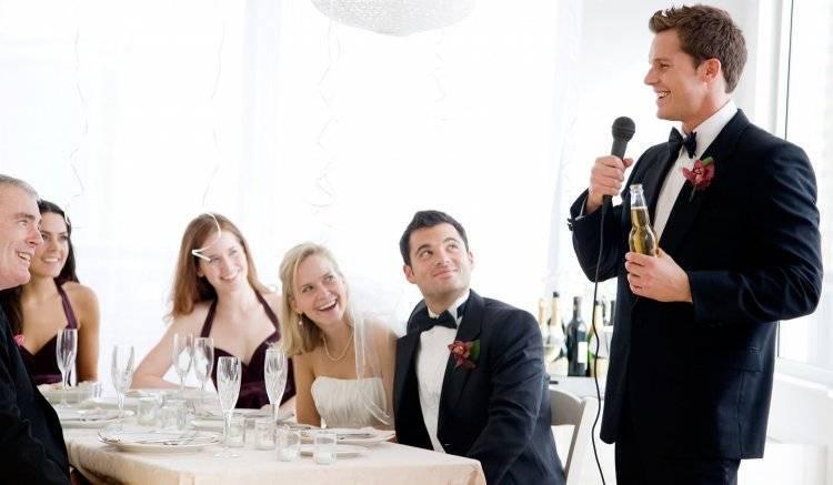 Тосты на свадьбу от друзей: от юмора до лирики
