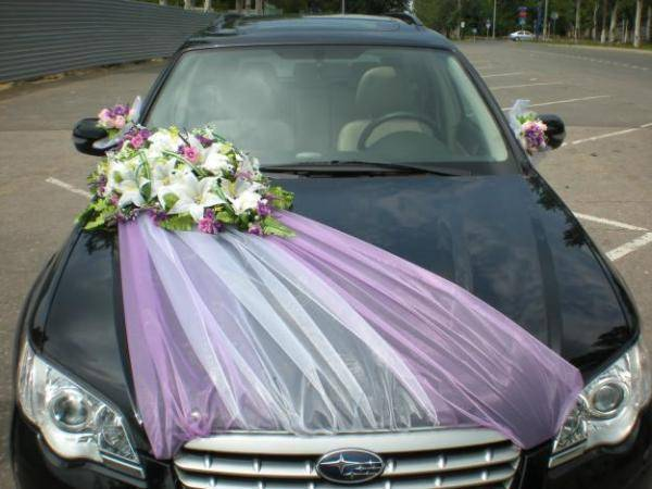 Украшение на машину своими руками  как нарядить автомобиль в день свадьбы