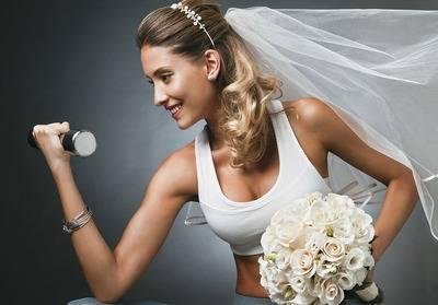Как быстро похудеть перед свадьбой? диета для невесты