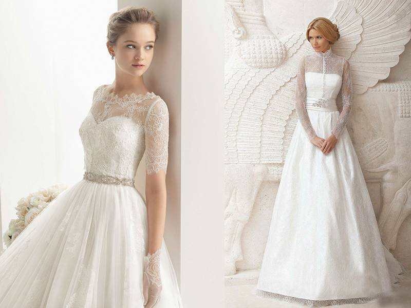 Выбираем серьги к свадебному платью