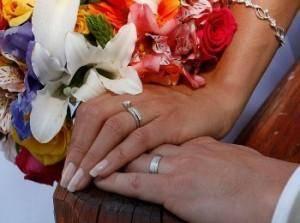 На какой палец надевают обручальное кольцо в россии
