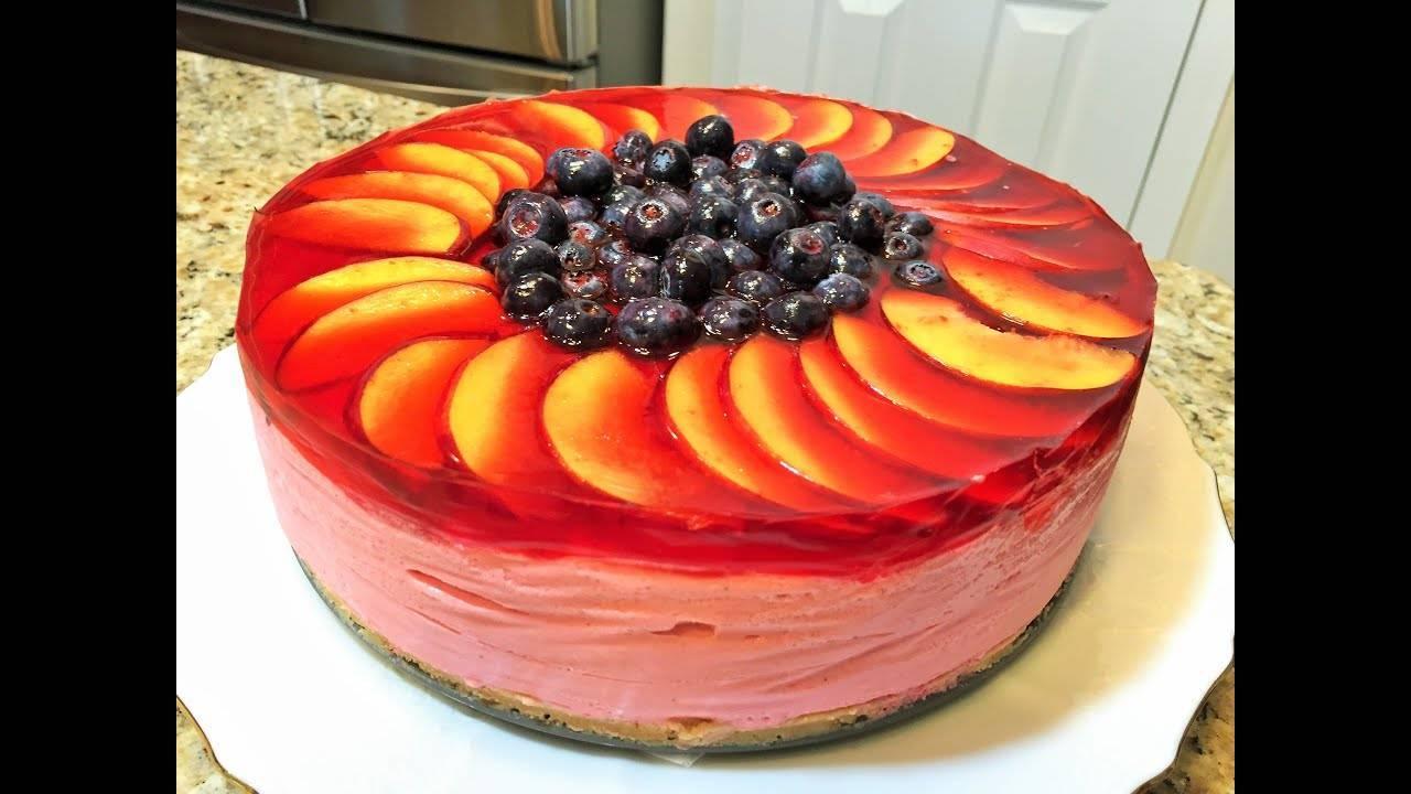 Как красиво украсить торт фруктами своими руками в домашних условиях