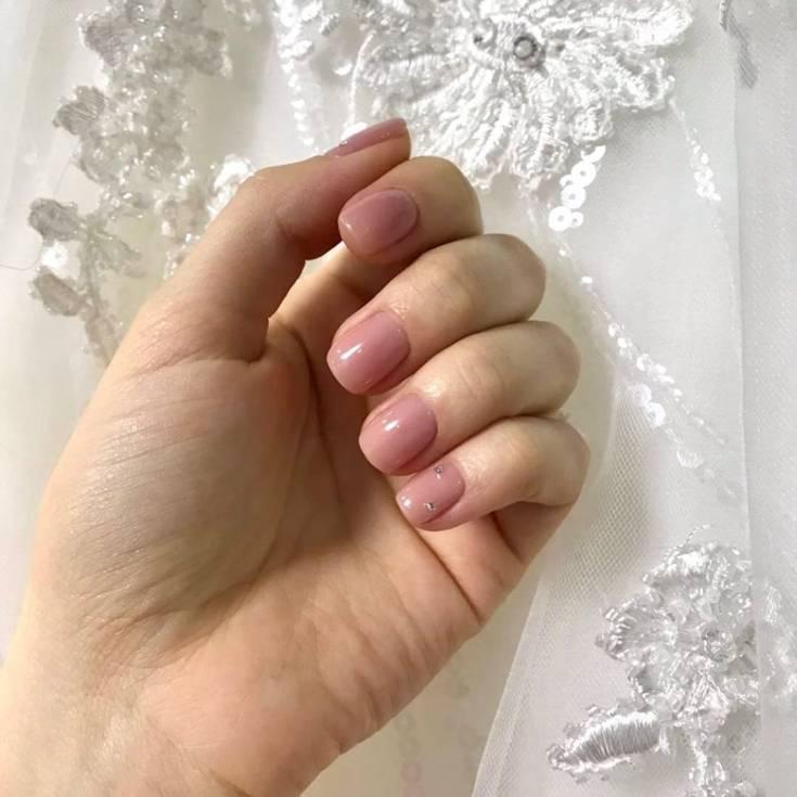 Свадебный маникюр — фото идеи изумительного дизайна ноготков