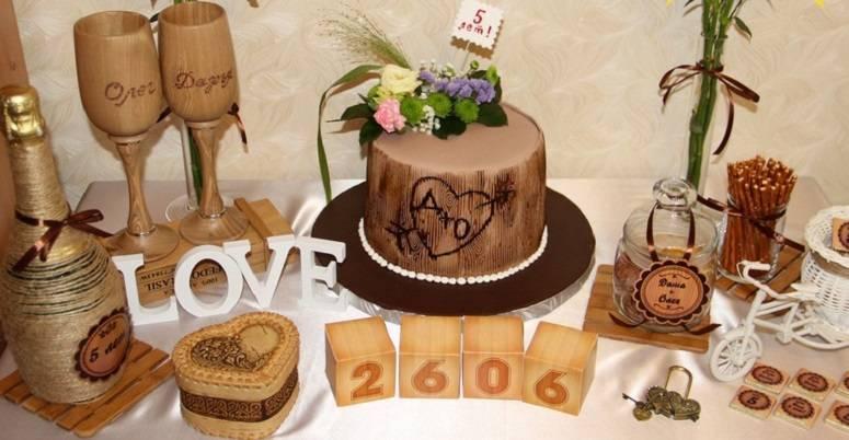 Что подарить на деревянную свадьбу от друзей и родственников - с юмором и оригинальные