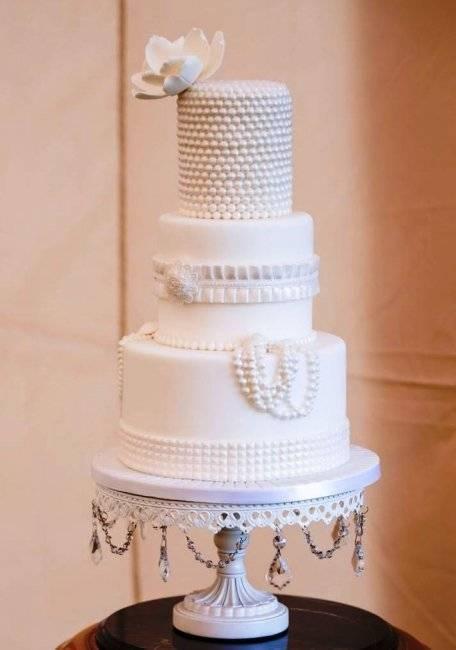 Белый свадебный торт: идеи оформления и варианты сочетания с другими цветами