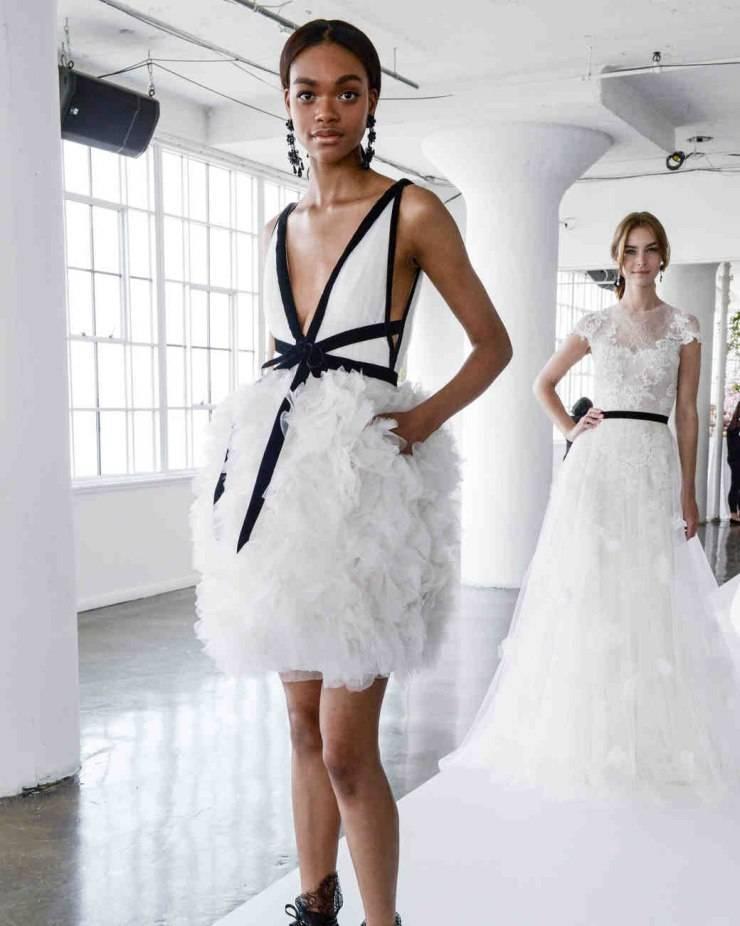 Цветные свадебные платья: самые лучшие модели и цвета  (73 фото)
