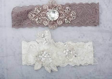 Подвязка для невесты. мастер-класс с пошаговыми фото