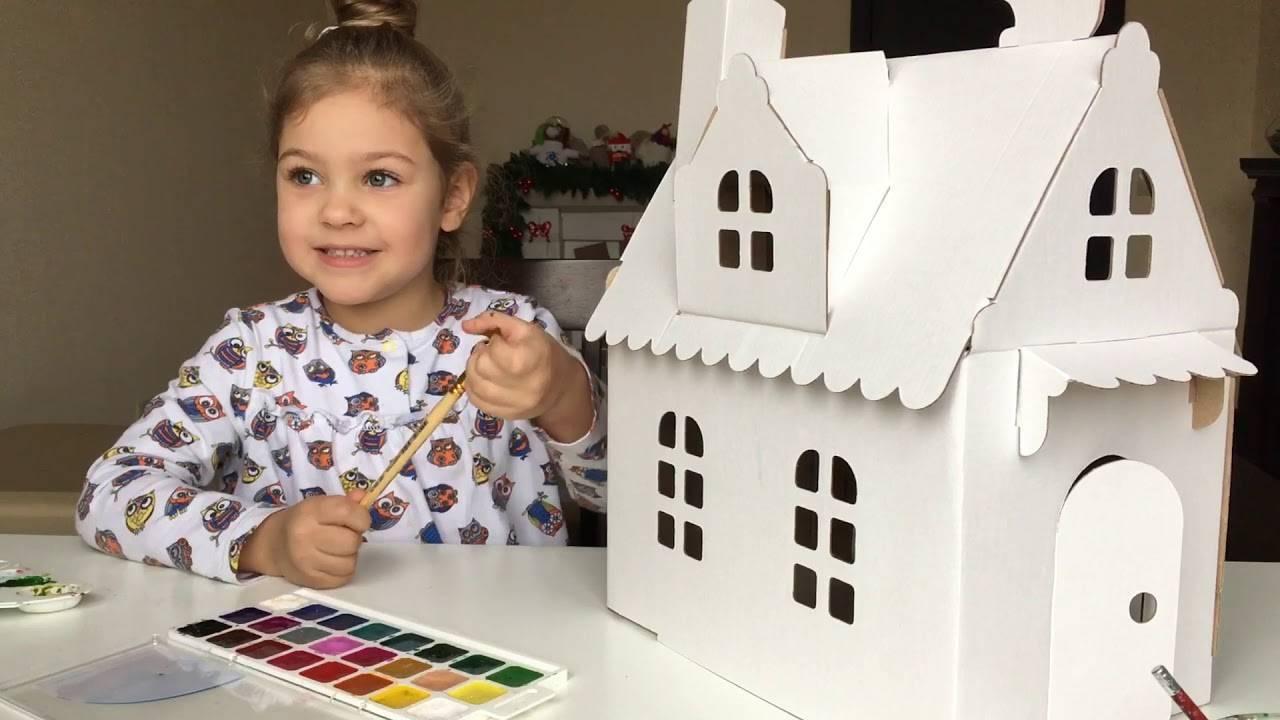 Поделки из картона – оптимальные идеи, не сложные украшения и игрушки (115 фото)