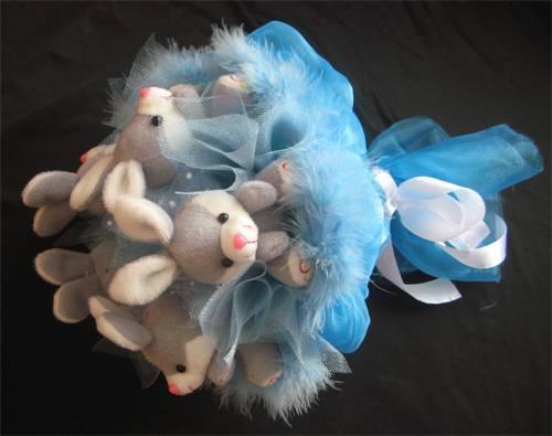 Свадебный букет из мягких игрушек своими руками. мастер-класс с пошаговыми фото